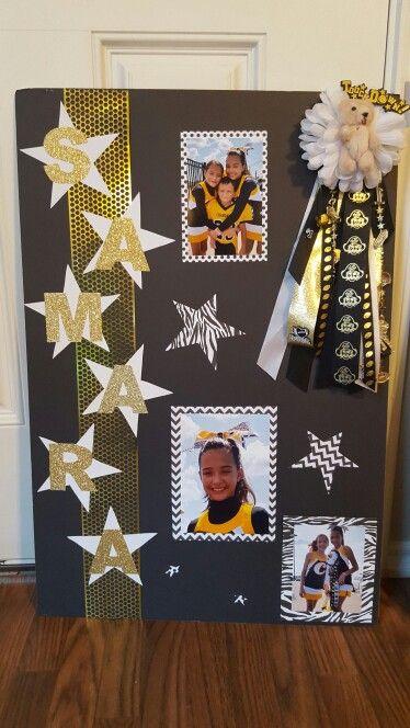 Homecoming Poster Cheer And Football Homecoming