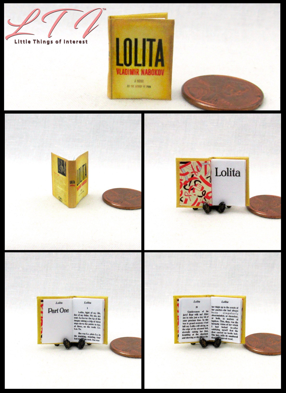 THE CRUCIBLE Miniature Book Dollhouse 1:12 Scale Readable Arthur Miller