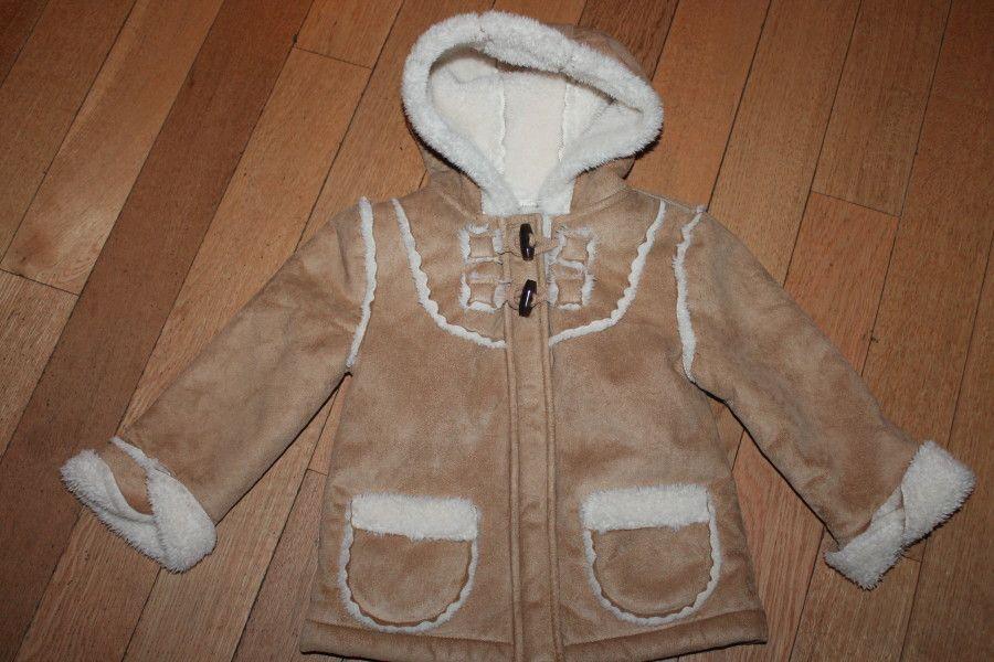 Shearling jacket, Size 4 - merrilymerrily.ca