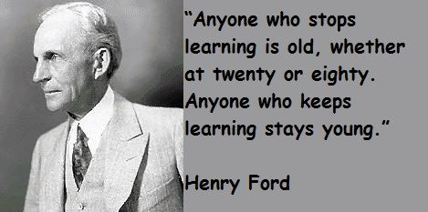 Henry Ford Quotes Google Search Henry Ford Quotes Learning Quotes Great Quotes