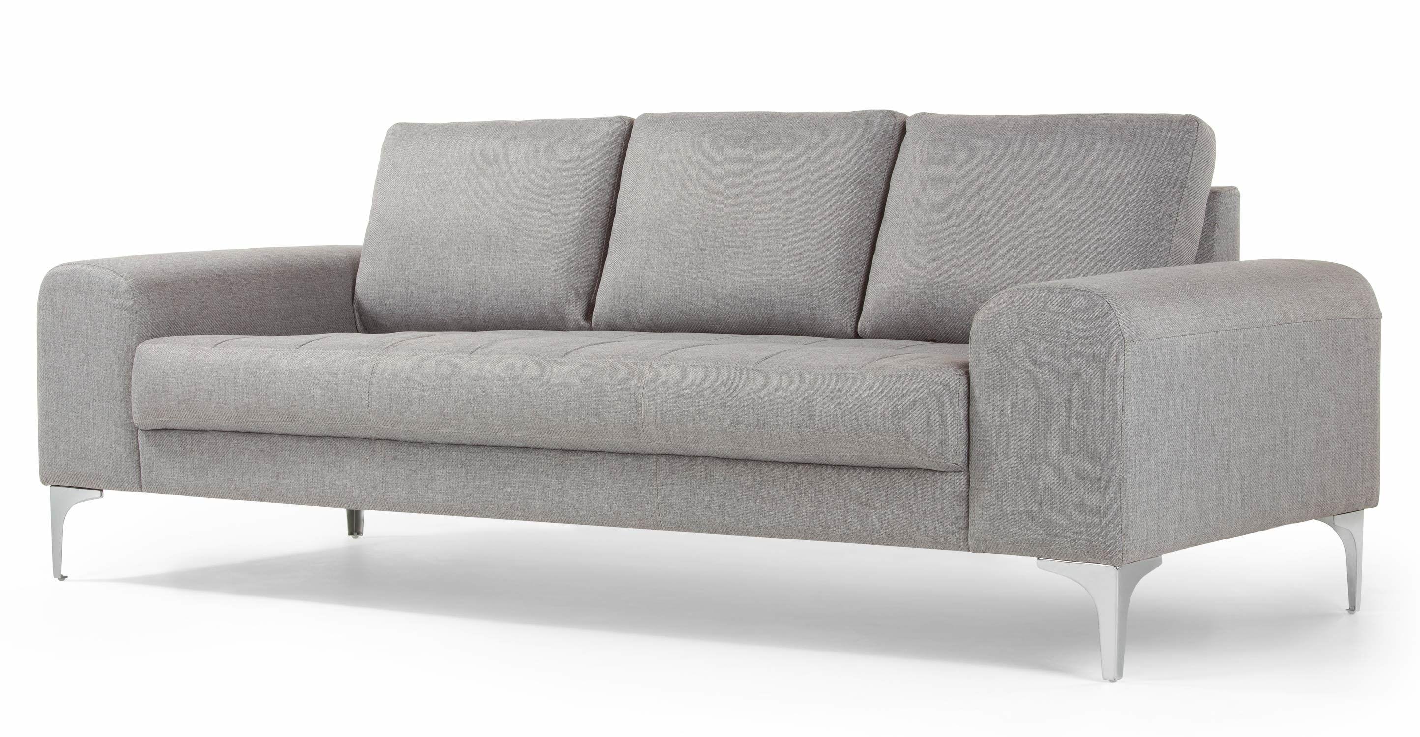 Made Com Canapes 3 Places Gris 3 Seater Sofa Sofa Teal Sofa