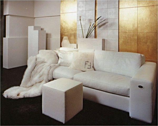 metallic wandfarbe fr ein luxurises ambiente in ihrer wohnung - Fantastisch Wandfarben Metallic Farben