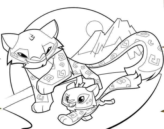 Cheetah Animal Jam Coloring Pages Animal Coloring Pages Animal Jam Coloring Pages