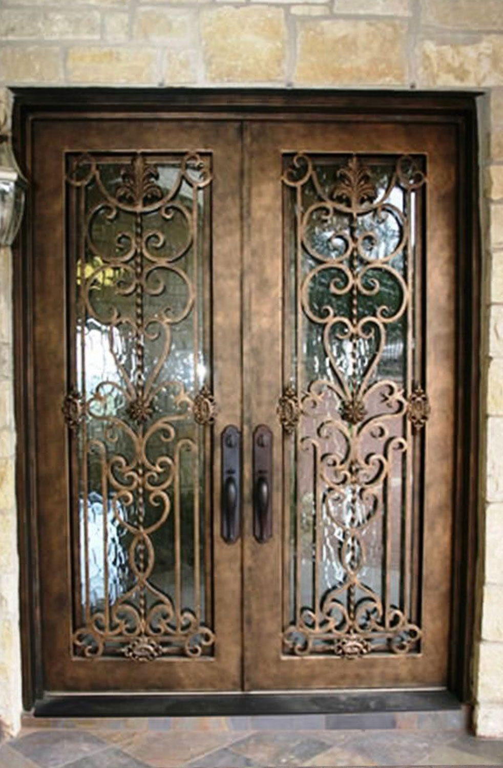 Cantera Doors Provides Hand Forged Custom Made Iron Staircase Balcony Railings For Your Home In Texas Wrought Iron Doors Iron Doors Wrought Iron Front Door