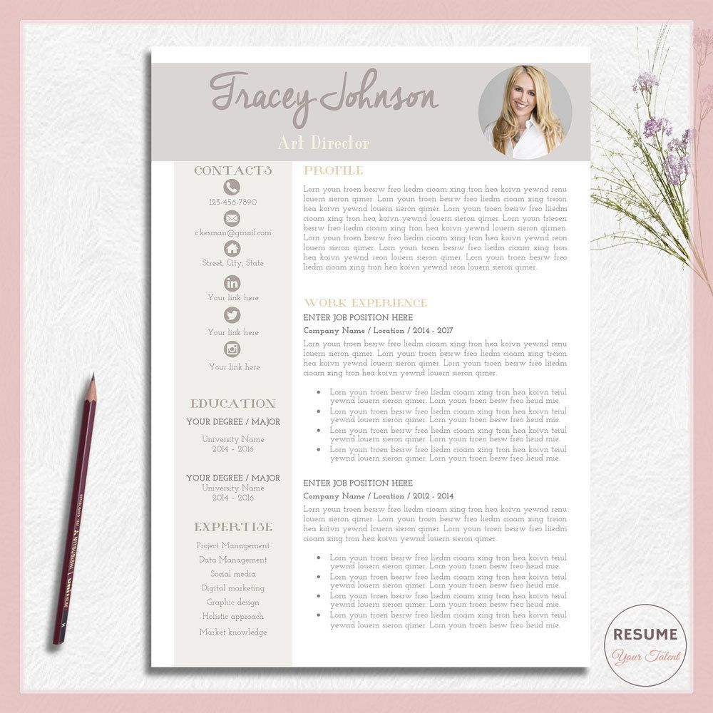 resume template word resume design word professional resume