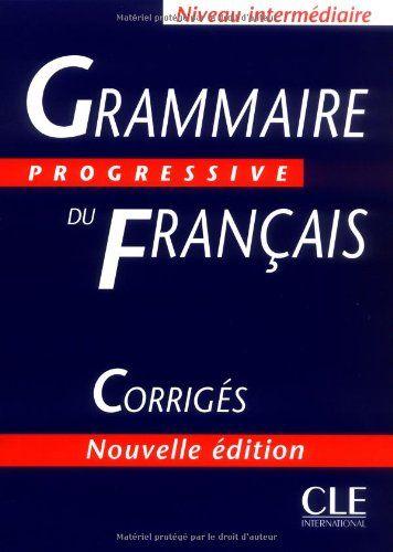 Grammaire progressive du francais corrigs answer key french grammaire progressive du francais corrigs answer key french edition fandeluxe Images