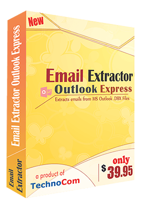 Outlook express email extractor software helps to get emails