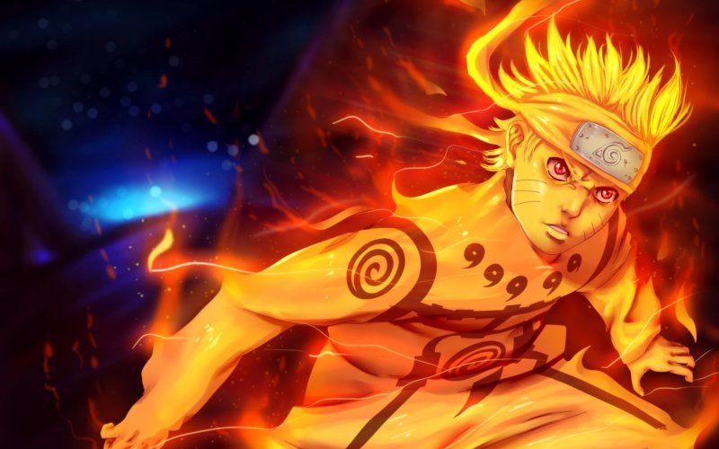 Wallpaper Artwork Uzumaki Naruto Anime Boy Fire Anime Artwork Wallpaper Anime Anime Artwork