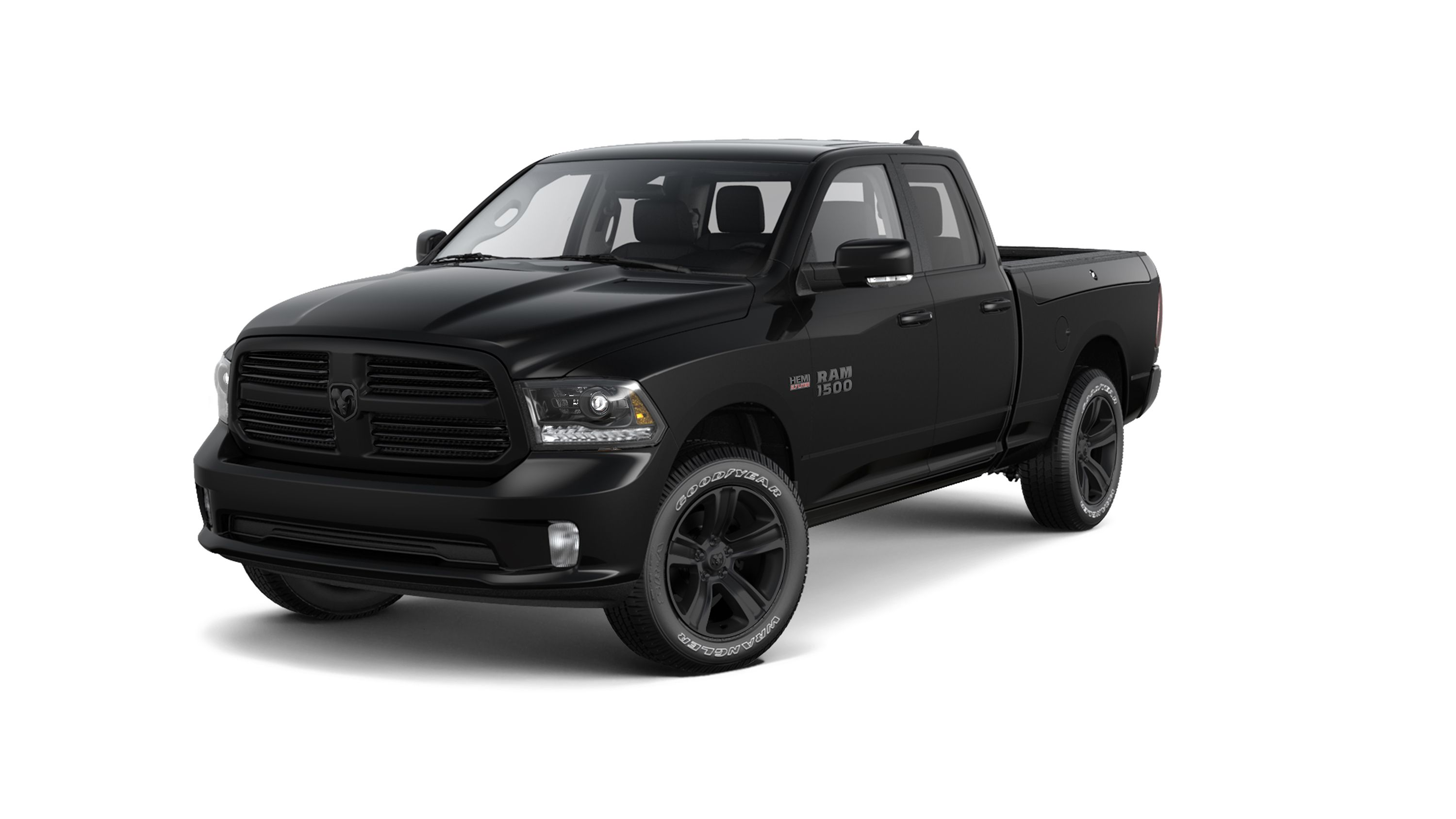 Ram 1500 Black Sport takes design cues from popular Black