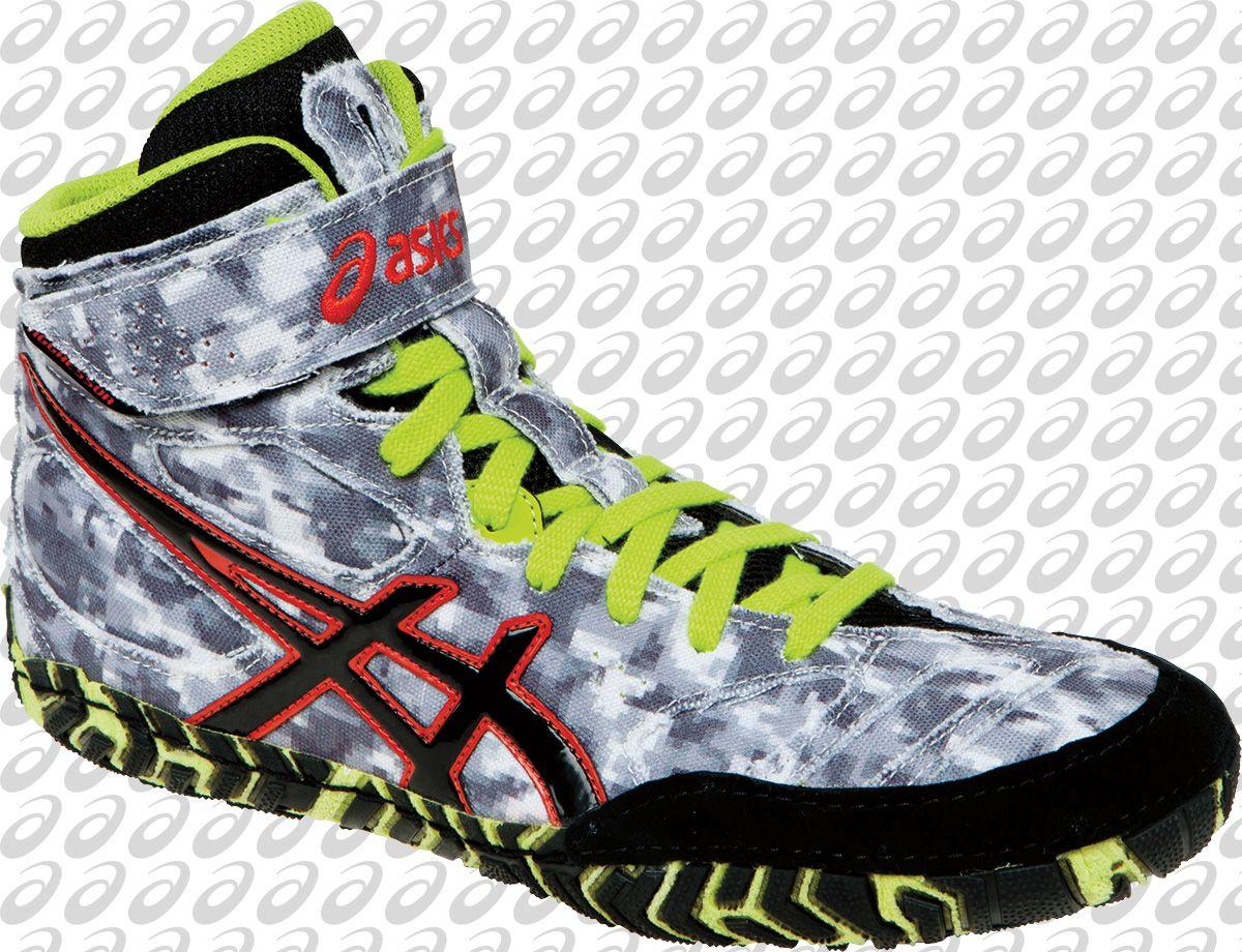 explosión viceversa gravedad  ASICS Aggressor 2 LE Digital Camouflage Wrestling Shoes | Wrestling shoes,  Adidas wrestling shoes, Boxing shoes