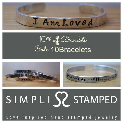 3 Day Bracelet Sale! Well, 3 days plus a couple of extra hours for today :) Good through 1/25/13