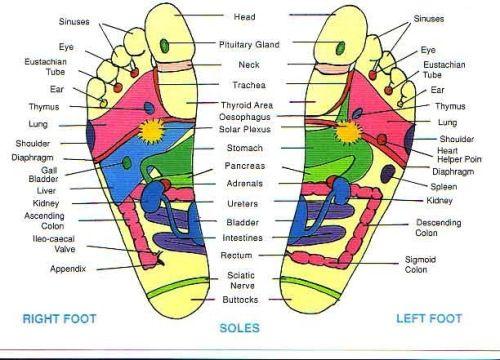 Foot Massaging Diagram Beauty Pinterest Reflexology Foot