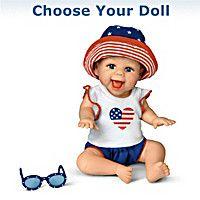 America, We Love You! Baby Dolls