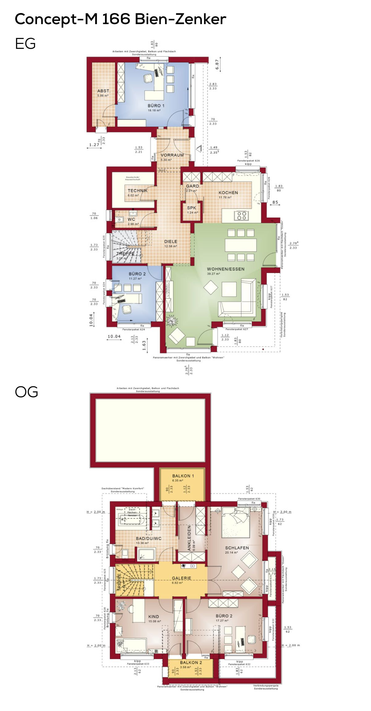 Einfamilienhaus Mit Buro Grundriss