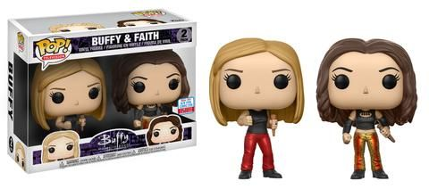 Buffy The Vampire Slayer Buffy Faith 2pk Nycc 2017 Exclusive Buffy Buffy The Vampire Slayer Vampire Slayer