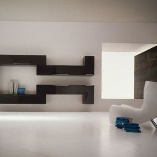 Shelves that are a wall art installation! We can design and make to order any furniture in addition to having a wide range of ready made and made to order options. Art of Interiors.
