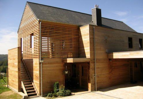 Maison unifamiliale Surface habitable 200 m² Matériaux - structure