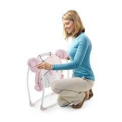 Comfort & Harmony Portable Swing : Target    This baby swing is great for a grandmother. Great to pack up and put away until baby visits!