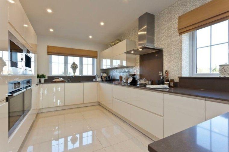 Diseño de cocinas modernas - 100 ejemplos geniales   Kitchens ...