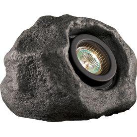 Portfolio Gray Low Voltage 50-Watt (50 W Equivalent) Halogen Spot Light