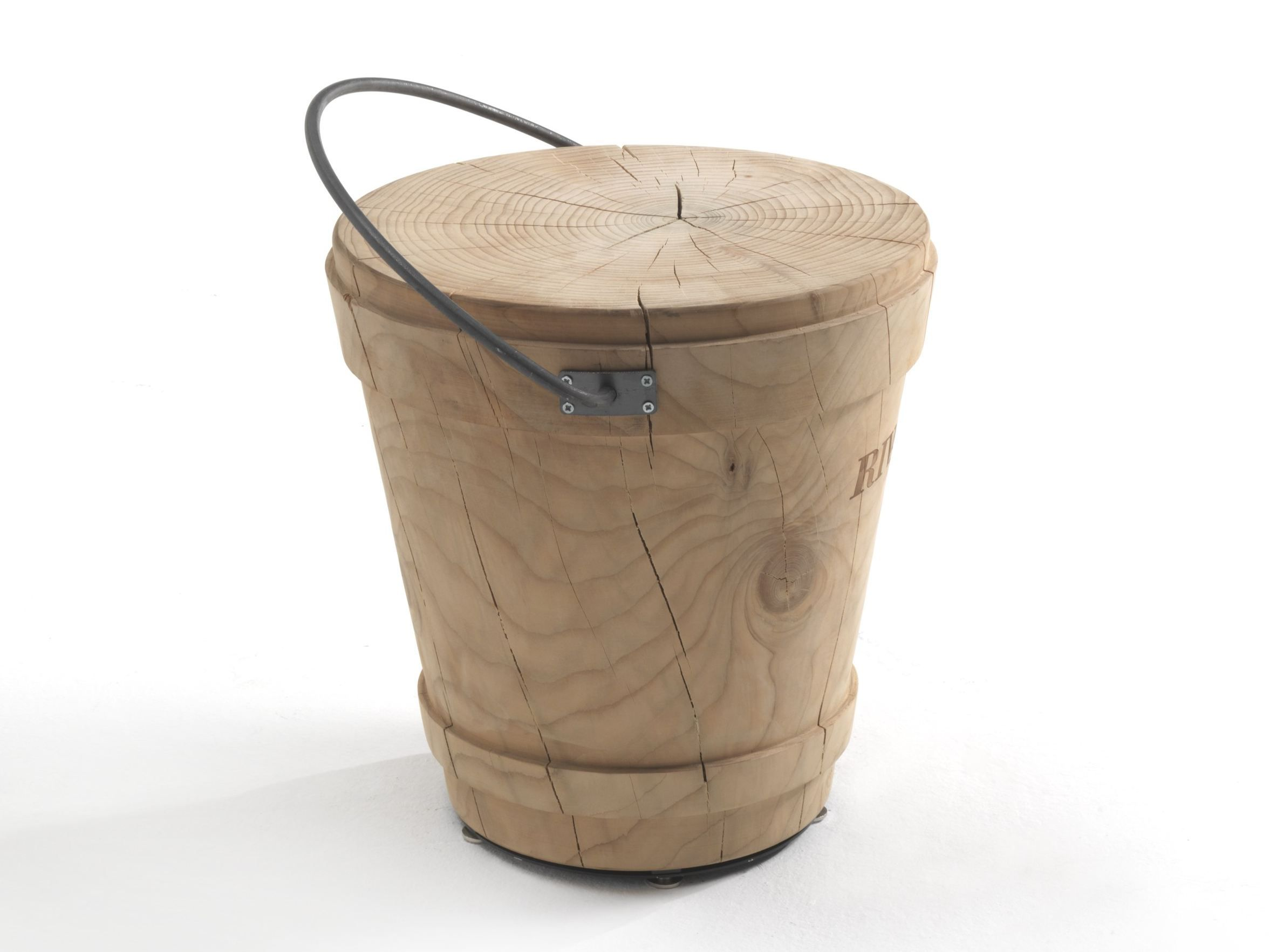 Vienna sgabello in legno massello by sipa