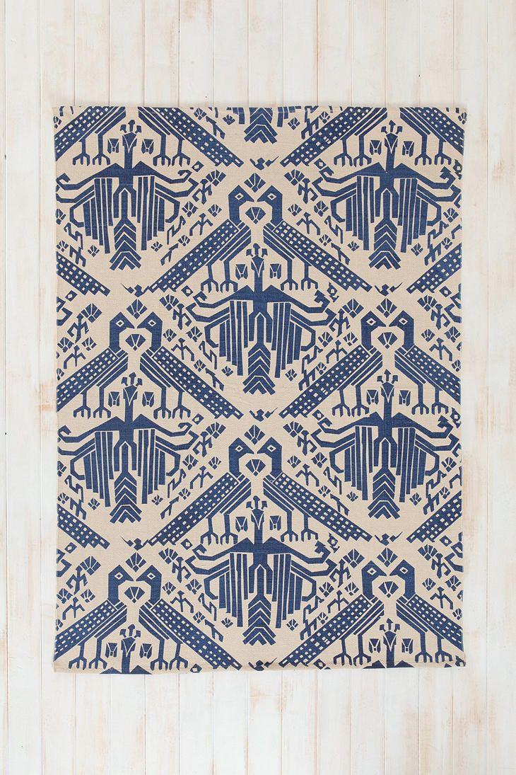 Stamp Rug magical thinking bird stamp rug | tapis | pinterest | magical thinking
