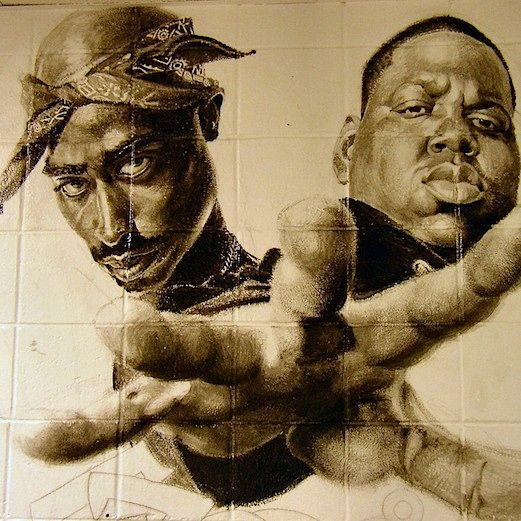 Bringing The Legends Of Rap Back To Life A Modern Remix Tribute To Tupac Shakur And Biggie Smalls 2pac And Biggie Tupac And Biggie Tupac