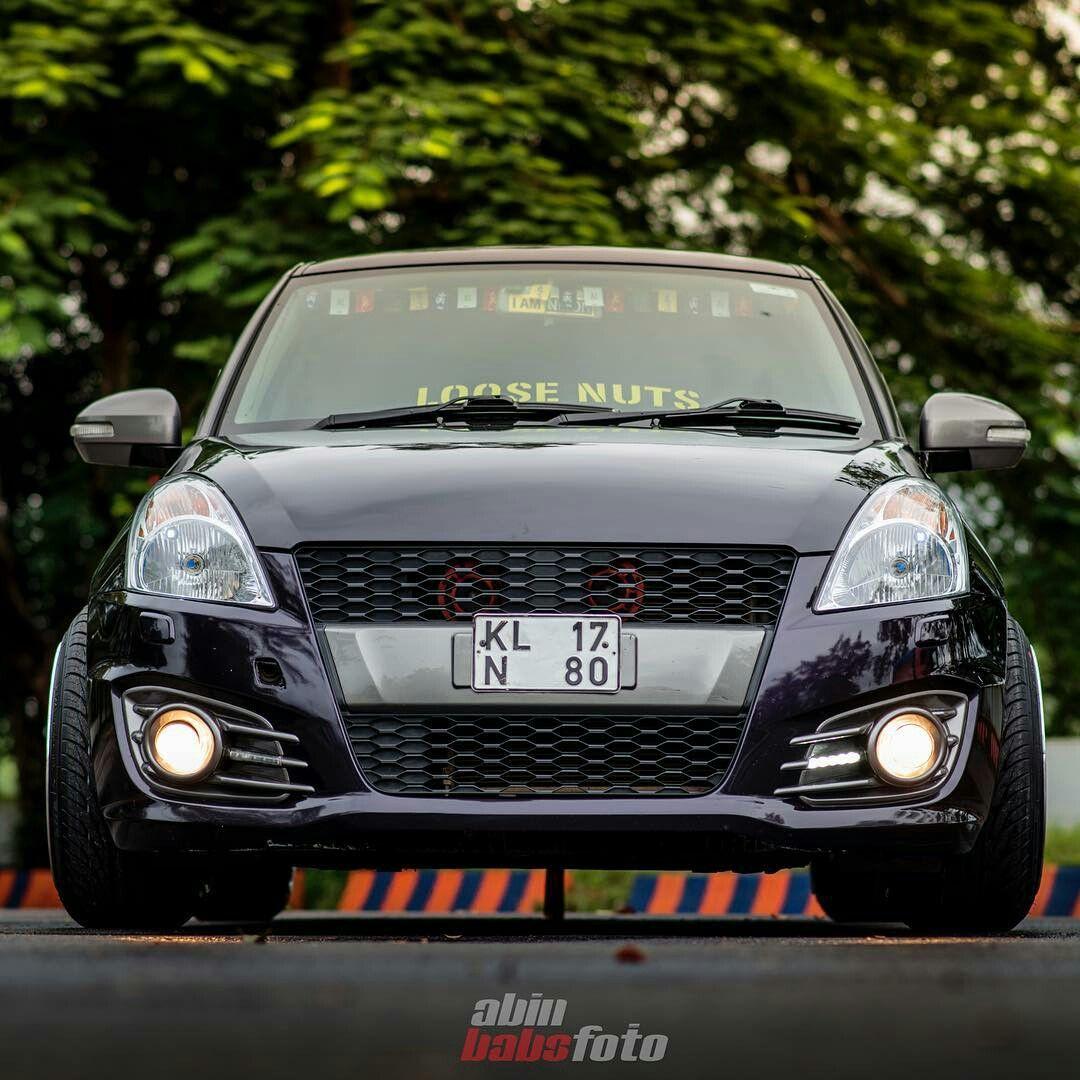 Black Modified Maruti Swift Cars Lover With Images Suzuki