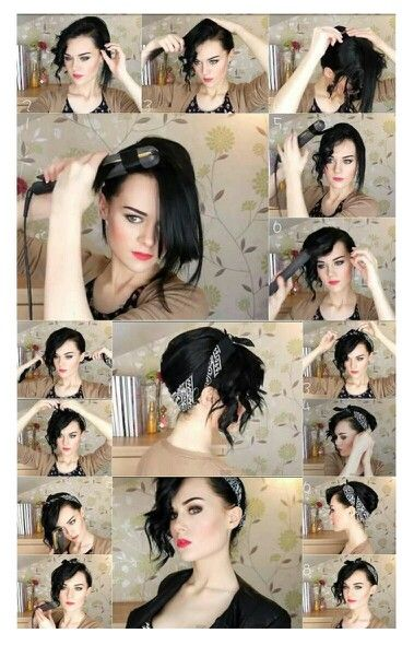 Hair Style Frisuren Frisur Rockig Frisur Ideen