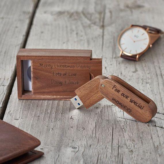 personalisierte usb flash drive personalised memory stick graviert speicher stick hochzeit. Black Bedroom Furniture Sets. Home Design Ideas