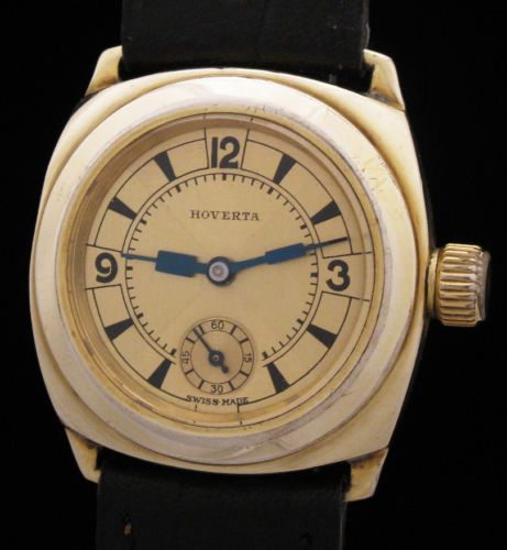 12a7c342722 RARE-Vintage-HOVERTA-OYSTER-Prototype-ArT-DEcO-Watch-EARLY-WATERPROOF-Like-ROLEX