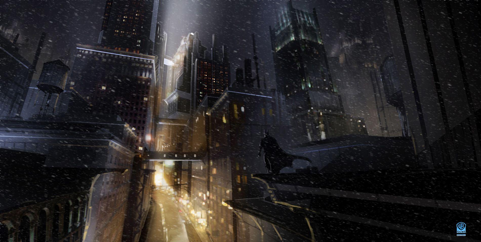 Batman Arkham Origins Concept Art By Meinert Hansen Batman