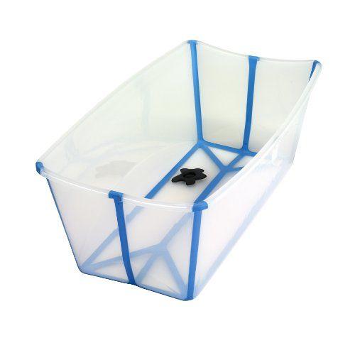 Prince Lionheart Flexibath Foldable Bathtub   Color: Clear On Www.babyli.st