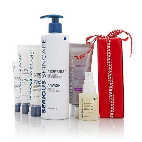 serious skincare beauty bash vitamin a agedefy kit all