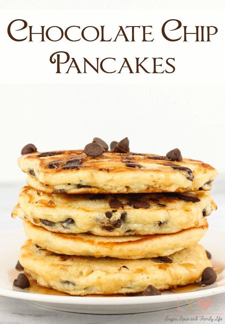 Chocolate Chip Pancakes Recipe