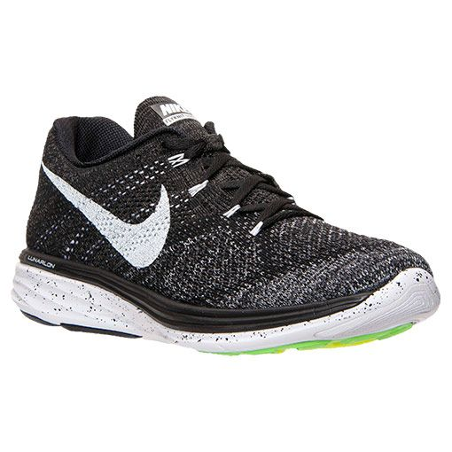 6e787466a4c3 Men s Nike Flyknit Lunar 3 Running Shoes - 698181 010