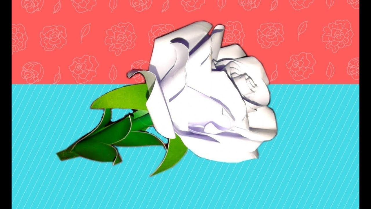 How To Make Rose Flower With Paper Origami Twisty Simple Diagram By Ea