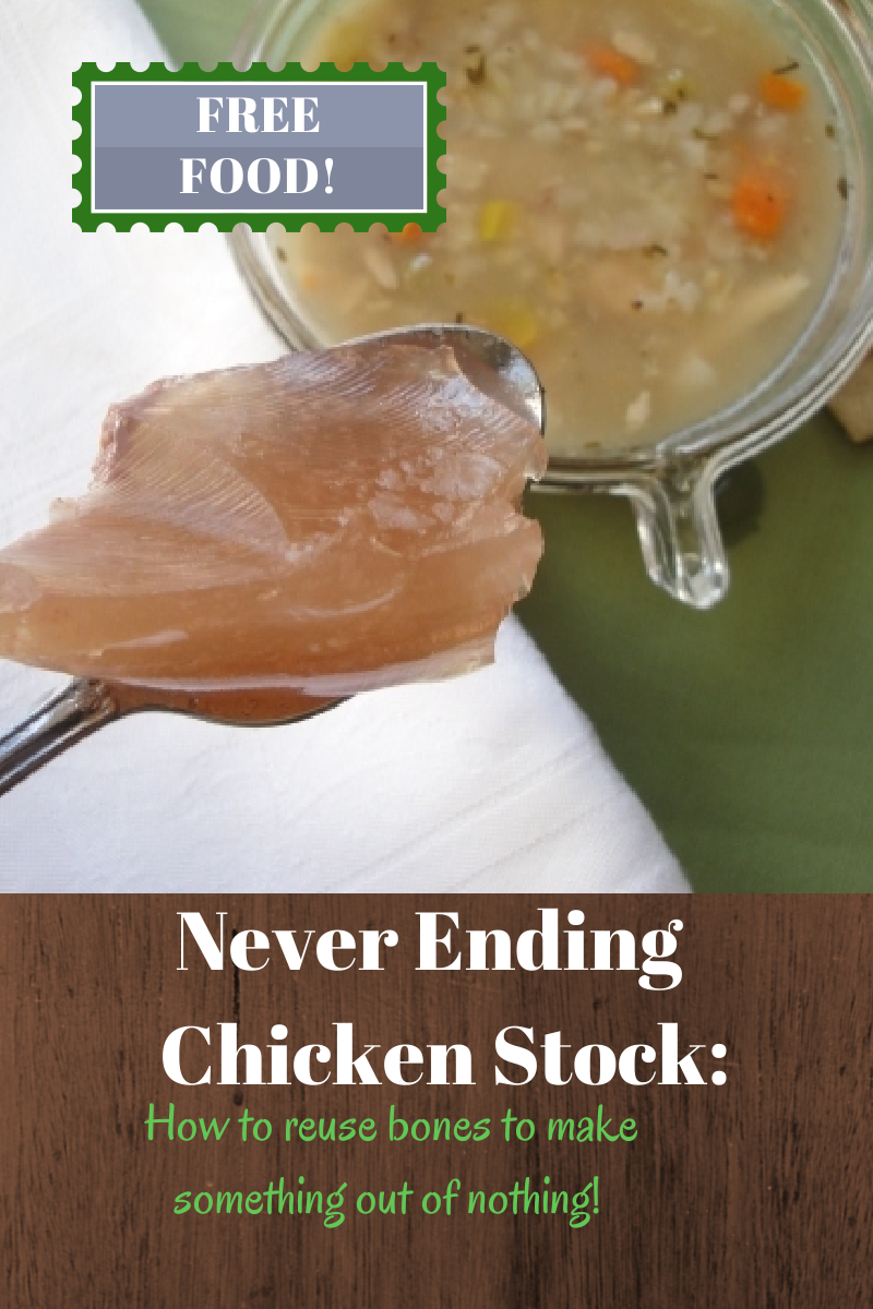 How to use chicken bones to make multiple batches of bone broth reuse chicken bones after making frugal chicken stock to make even more stock how many forumfinder Images