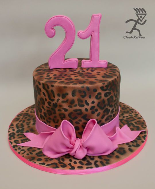 Leopard Print Cake Birthday Ideas Pinterest Leopards Cake And