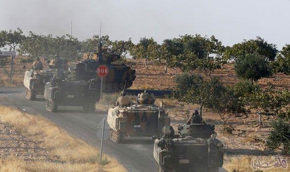 مقتل 1940 مسلحًا من داعش و315 من…: مقتل 1940 مسلحًا من داعش و315 من حزب العمال الكردستاني شمالي سورية في عملية درع الفرات