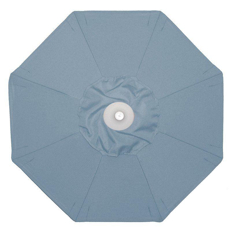 Galtech 9-ft. Aluminum Tilt Sunbrella Patio Umbrella Sunbrella Minerals / Grade B - 736MO-62
