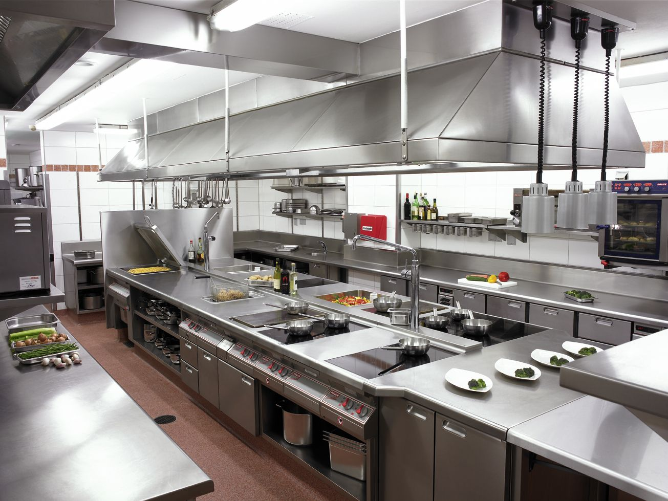 Restaurant kitchen design layout example - Industrial Kitchens Restaurant Kitchen Designrestaurant