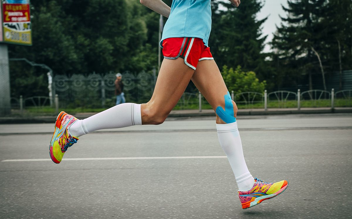 ff3964c2bb Compression socks, calf sleeves, and tights tout a lot of health benefits,  like faster recovery, more speed, and overall better performance.