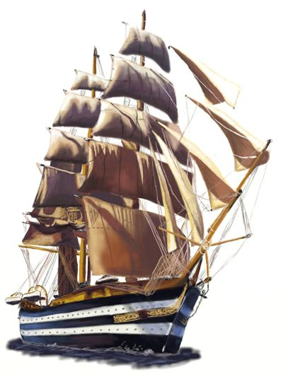 how to draw a sailboat step by step easy