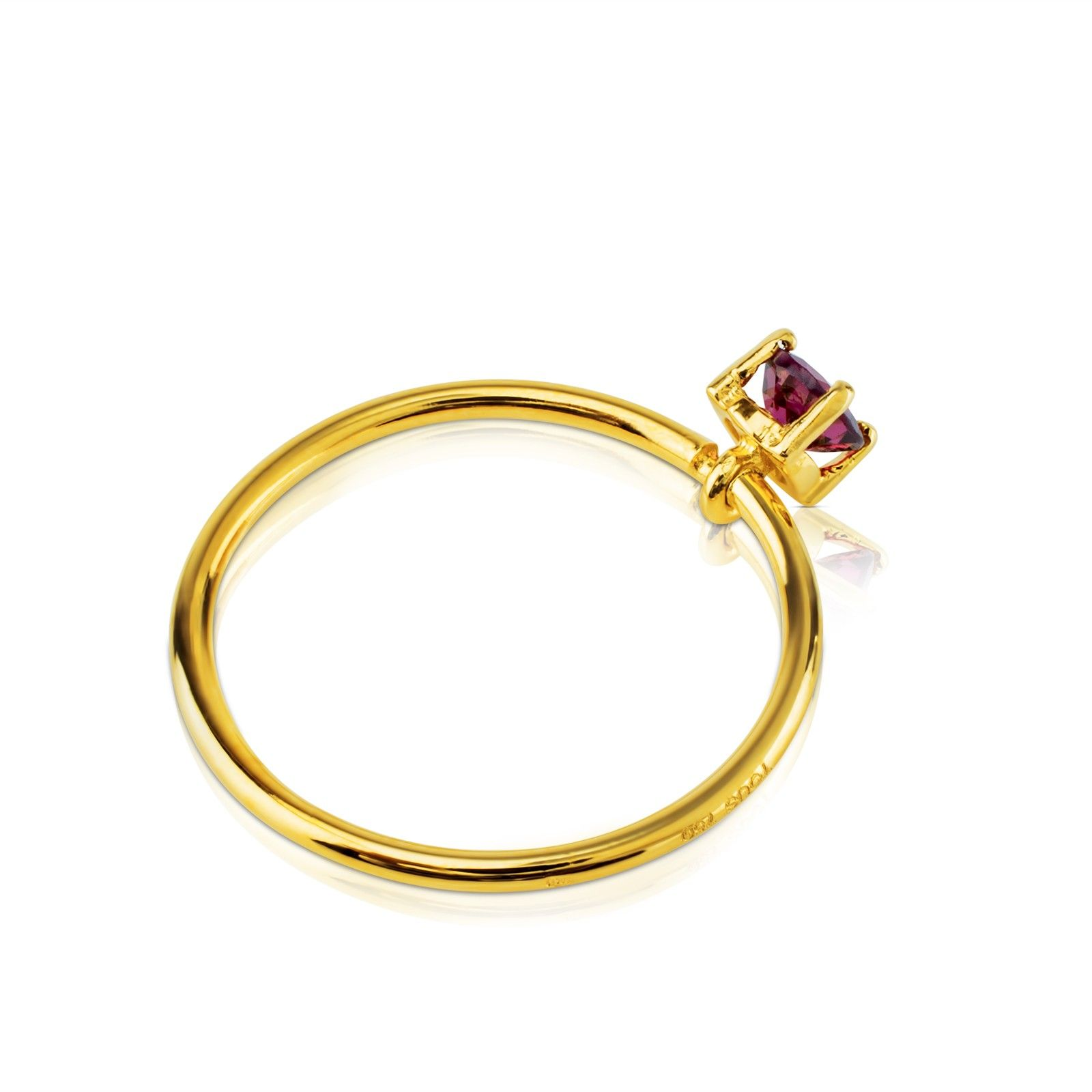 Gold Mix Color Ring - Tous