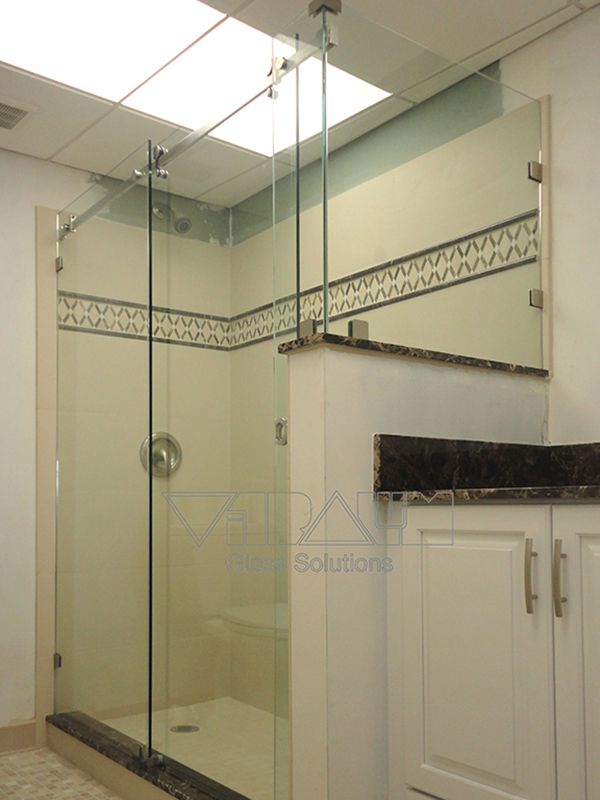Frameless Shower Enclosures Orlando Bathroom Shower Doors Shower