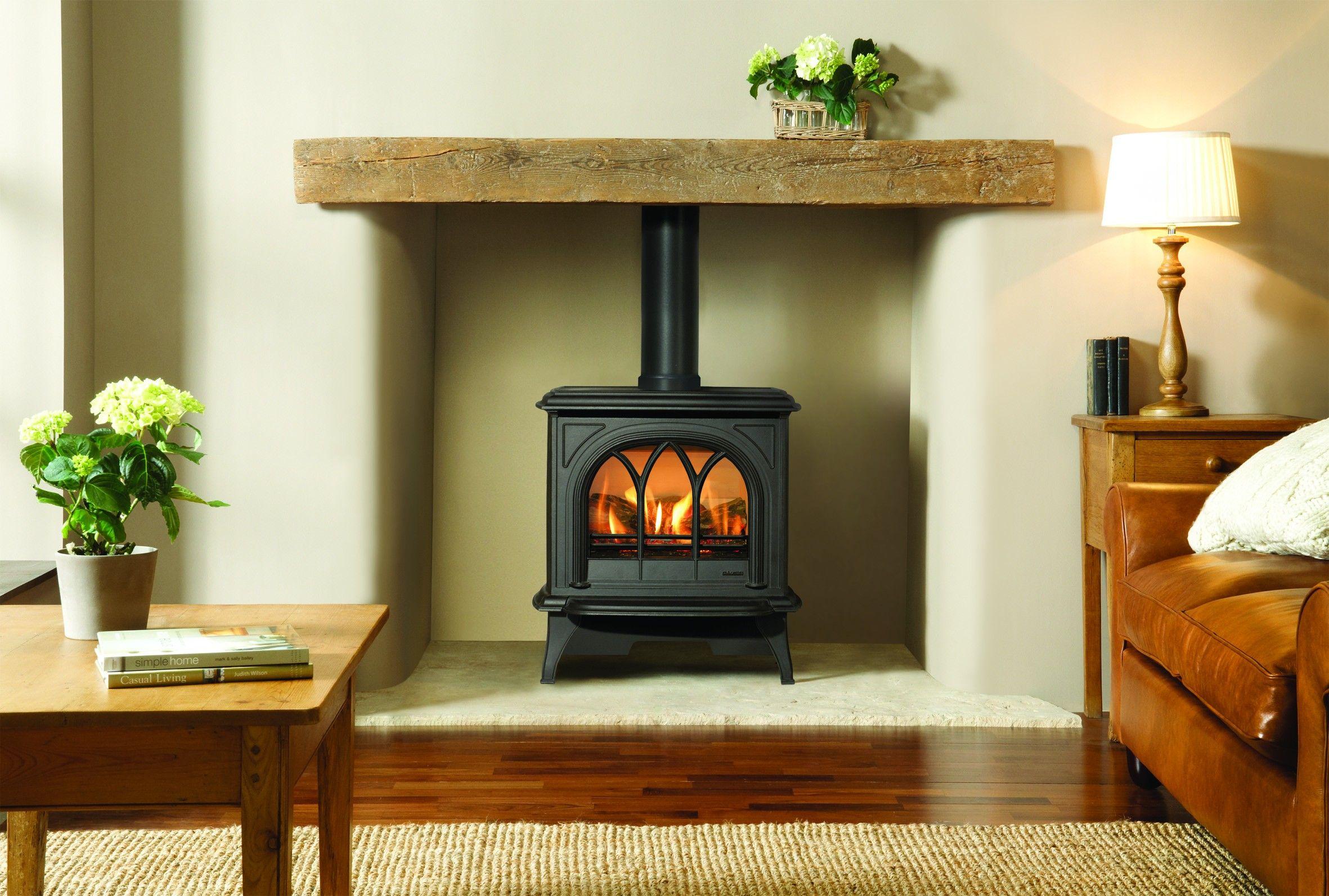 Gazco Huntingdon 30 Wee Perch For Stuff Log Burner Living Room Woodburning Stove Fireplace Freestanding Fireplace