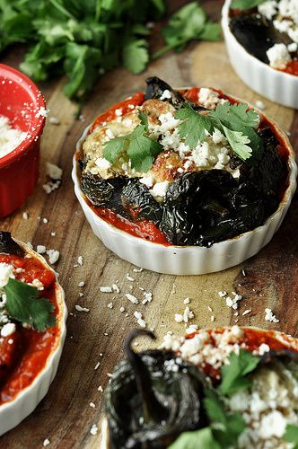 Roasted Shrimp-Stuffed Poblano Peppers : The Candid Appetite