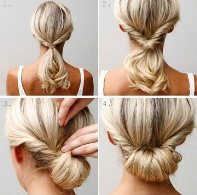 Easy Bun Hairstyles Delectable 5Frizurizarazlicniprigodikoisekojazenatrebadaznaesamada