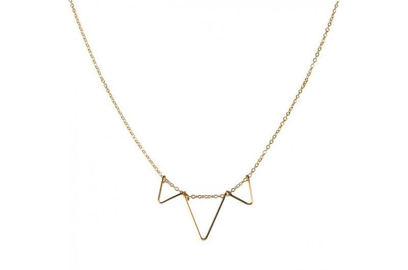 triple deco necklace.